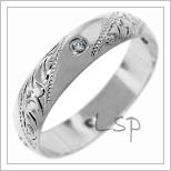 Snubní prsteny LSP 2654b