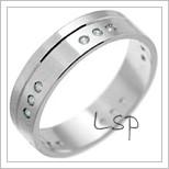 Snubní prsteny LSP 2656