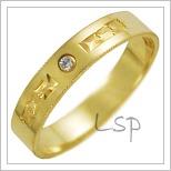 Snubní prsteny LSP 2657