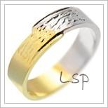 Snubní prsteny LSP 2665
