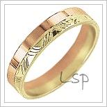 Snubní prsteny LSP 2676