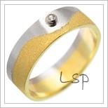 Snubní prsteny LSP 2682