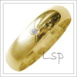 Snubní prsteny LSP 2687