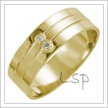 Snubní prsteny LSP 2695