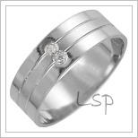 Snubní prsteny LSP 2695b