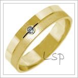 Snubní prsteny LSP 2710