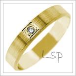 Snubní prsteny LSP 2716