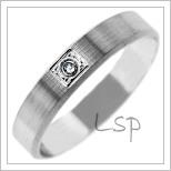 Snubní prsteny LSP 2716b