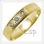 Snubní prsteny LSP 2718