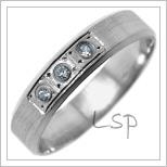 Snubní prsteny LSP 2718b