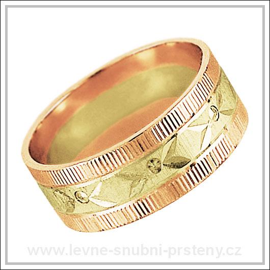 Snubní prsteny LSP 2731