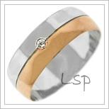 Snubní prsteny LSP 2736