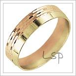 Snubní prsteny LSP 2739
