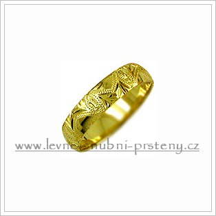 Snubní prsteny LSP 2742 žluté zlato