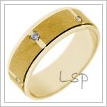 Snubní prsteny LSP 2743