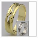 Snubní prsteny LSP 2747