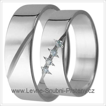 Snubní prsteny LSP 2775