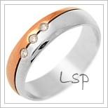 Snubní prsteny LSP 2776