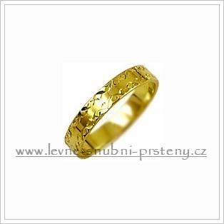 Snubní prsteny LSP 2783 žluté zlato