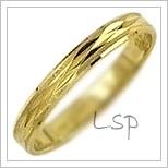 Snubní prsteny LSP 2791 žluté zlato