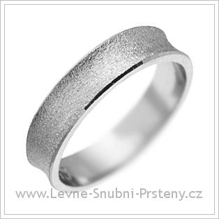 Snubní prsteny LSP 2810 žluté zlato