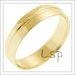 Snubní prsteny LSP 2818