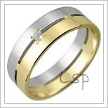 Snubní prsteny LSP 2819