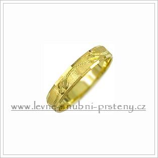 Snubní prsteny LSP 2839 žluté zlato