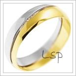 Snubní prsteny LSP 2850