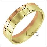 Snubní prsteny LSP 2855