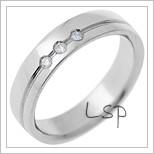 Snubní prsteny LSP 2856