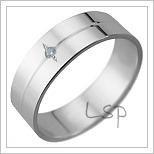 Snubní prsteny LSP 2889