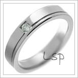 Snubní prsteny LSP 2949