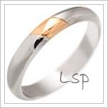 Snubní prsteny LSP 2957