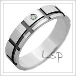 Snubní prsteny LSP 2960 bílé zlato