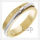 Snubní prsteny LSP 2964