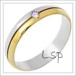 Snubní prsteny LSP 2981