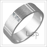 Snubní prsteny LSP 2983