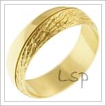 Snubní prsteny LSP 2987