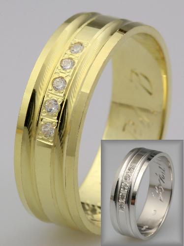 Snubní prsteny LSP 3016