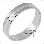 Snubní prsteny LSP 3020 - bílé zlato