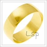 Snubní prsteny LSP 3022 žluté zlato