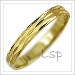 Snubní prsteny LSP 3025 žluté zlato