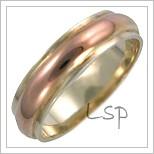 Snubní prsteny LSP 3036