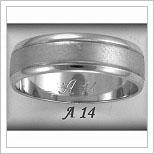 Snubní prsteny LSP A14B