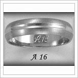 Snubní prsteny LSP A16B
