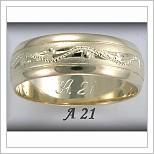 Snubní prsteny LSP A21
