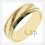 Snubní prsteny LSP A22