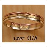 Snubní prsteny LSP B18