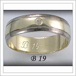 Snubní prsteny LSP B19